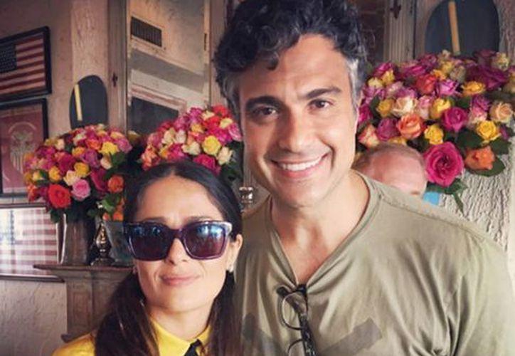 Camil también compartió una foto del encuentro. (Instagram Jaime Camil)