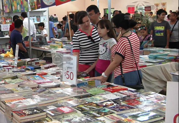 Más de 100 expositores ofertarán libros de varios sellos editoriales en la Filey. (Archivo/Sipse)