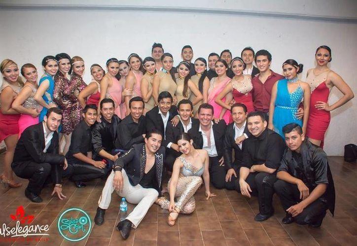 En el 'Fusión Salsa Fest' de la ciudad de México participarán más de 100 bailarines de 16 escuelas de Mérida. (Milenio Novedades)
