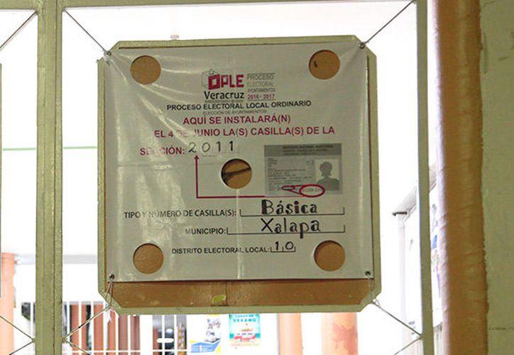 El consejo general del Organismo Público Local Electoral (OPLE) será la autoridad electoral encargada de la contienda, debido a que la elección es local. (El Diario de Xalapa)