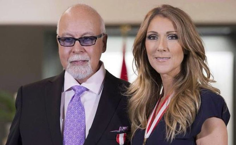 Rene Angelil y Celine Dion se casaron en 1994 y tuvieron tres hijos. Este jueves Angelil perdió la vida. (Archivo AP)