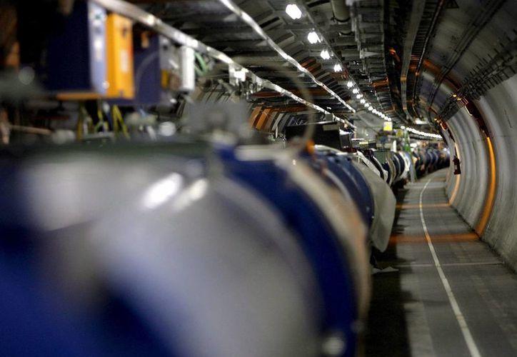El gran acelerador de partículas del Laboratorio Europeo de Física Nuclear (CERN). (EFE/Archivo)