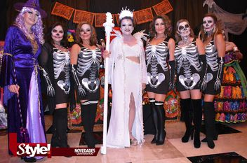 Noche de Brujas y Catrinas en Cancún