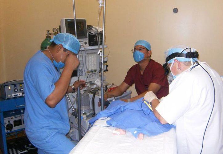 El club Rotario en coordinación con la Fundación Share, patrocinarán 50 cirugías a niños con labio leporino. (Redacción/SIPSE)
