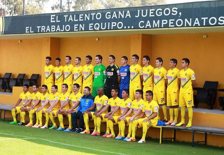 Foto oficial del Club América. La toma se realizó en las instalaciones de Coapa. (Agencias)