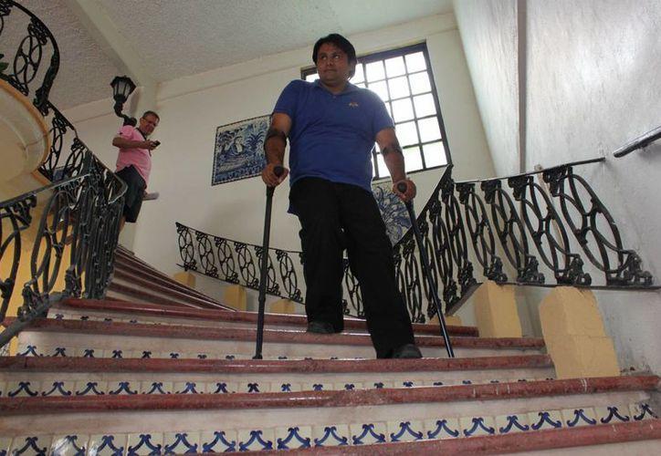 La nueva NOM obligará a las empresas de más de 50 empleados a que adapten sus instalaciones para la movilidad de personas con discapacidad. (Cortesía/Rafael Barragán)