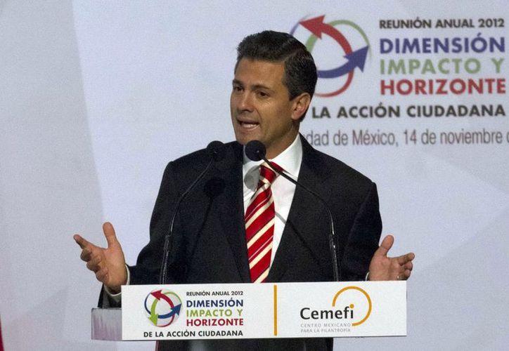 Enrique Peña, creó una secretaría que promoverá las obras de infraestructura. (Archivo Notimex)