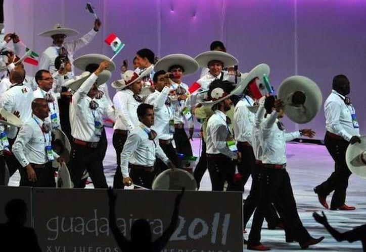 La delegación mexicana, como buena anfitriona, tuvo una gran participación en los Panamericanos de Guadalajara 2011. (revistareplicante.com)
