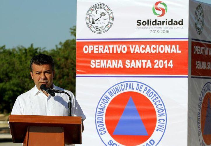 Mauricio Góngora Escalante considera que el INM debería tener más apertura para informar. (Adrián Monroy/SIPSE)