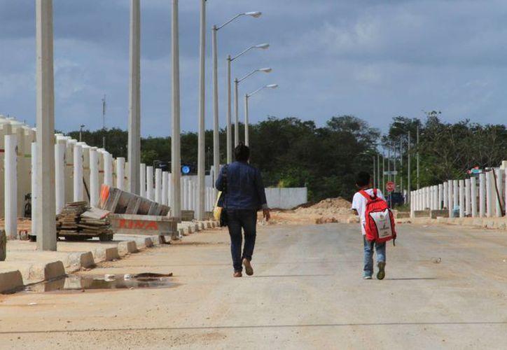14 fraccionamientos en la Dirección de Obras Públicas, Desarrollo Urbano y Ecología están en proceso de regularización.  (Angel Castilla/SIPSE)