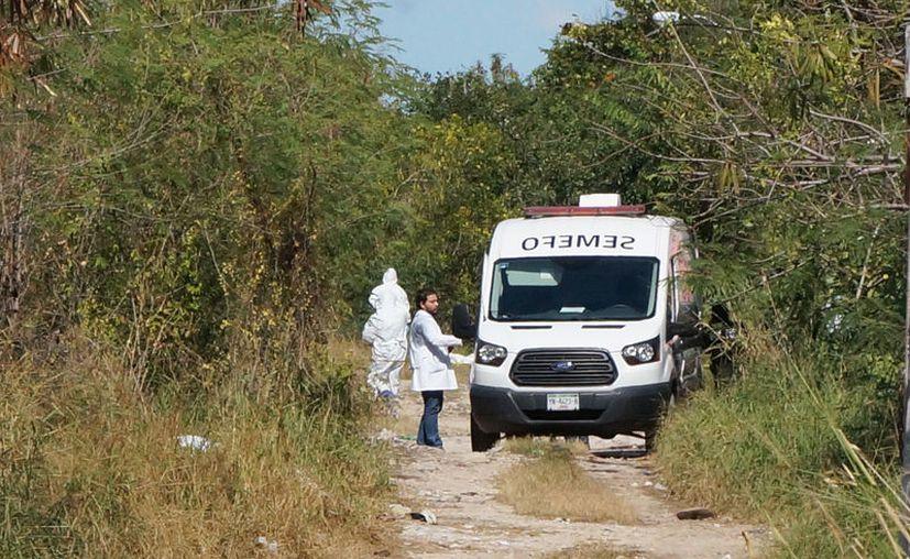 El cadáver fue hallado en una brecha de El Porvenir, en el poniente de Mérida.