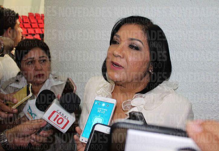 Rosaura Antonina Villanueva Arzápalo informó que enviarán el oficio de colaboración a la Fiscalía del Estado de Morelos. (Joel Zamora/SIPSE)
