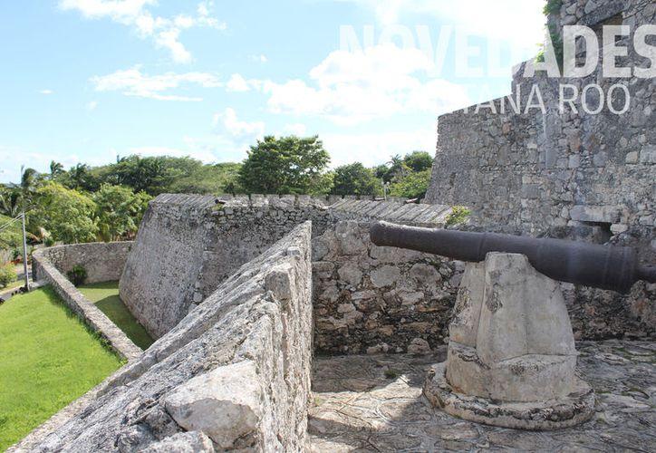 El emblemático Fuerte, fue testigo de la historia de los mayas, españoles y piratas de todo el mundo. (Foto: Javier Ortiz)