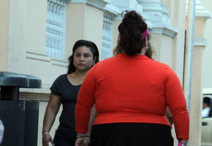 Obesidad afecta a muchos yucatecos. (Milenio Novedades)
