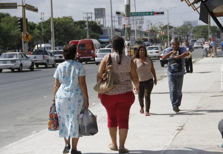 La obesidad es un factor de riesgo para desarrollar esta enfermedad que no tiene cura. (Tomás Álvarez/SIPSE)