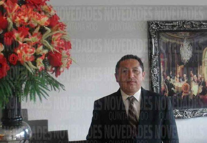 José Antonio Barón Aguilar dijo que no ha recibido emplazamiento alguno por parte de la autoridad municipal. (Joel Zamora/SIPSE)