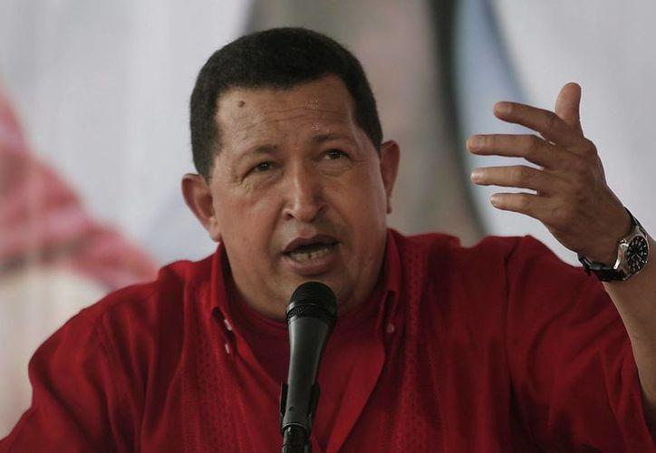 Desde que llegó al poder en 1999, el enfrentamiento de Chávez con los medios de comunicación privados fue una constante. (Archivo/EFE)
