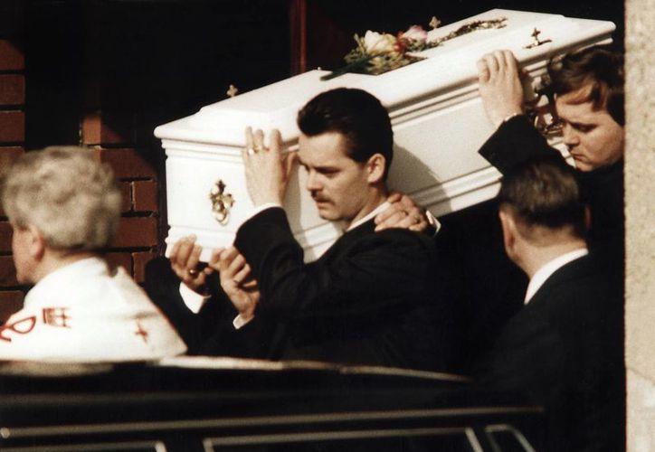 Imagen de archivo del funeral de James Belger. (EFE)