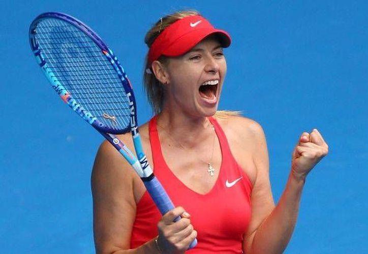 Maria Sharapova regresará a las cancha de tenis, el próximo 26 de abril, dentro de la competencia del famoso Torneo de Stuttgart, Alemania.(Archivo/AP)