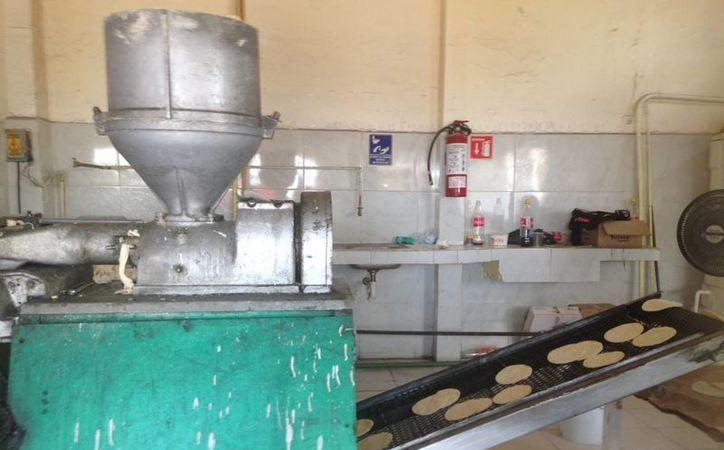 En las tortillerías, el kilo se vende en 15 pesos, y en tiendas 10 pesos. (Tomás Álvarez/SIPSE)