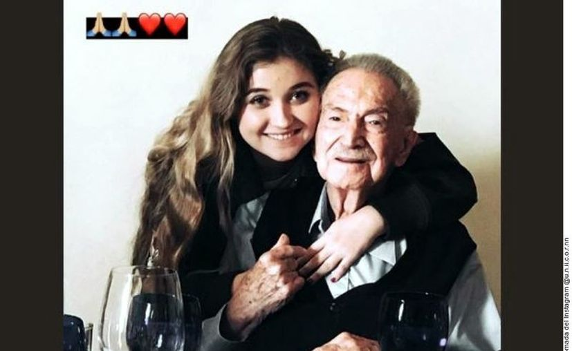 Varios medios reportaron que Mario Vargas, abuelo de Angélica Rivera, tenía 98 años al momento de su deceso. (Agencia Reforma)