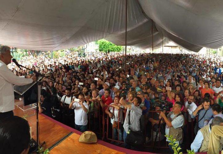 López Obrador asegura que se retirará 'cuando lo decida el pueblo'. (Facebook/Andrés Manuel López Obrador)