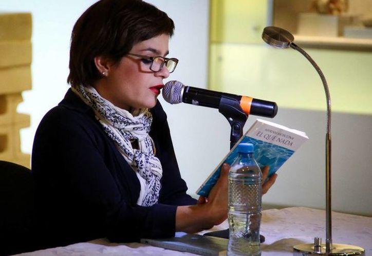 En el marco de su participación como lectora en voz alta la actriz Francisca Guillén se dice privilegiada de regresar a Mérida tras cuatro años. (SIPSE)