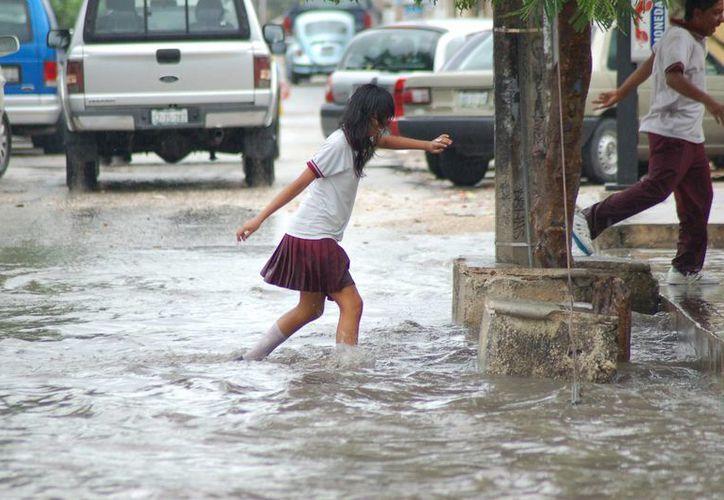 Durante la temporada de lluvias se vigilan que la infraestructura pluvial este al 100% y se eviten inundaciones como en ocasiones pasadas. (Sergio Orozco/SIPSE)