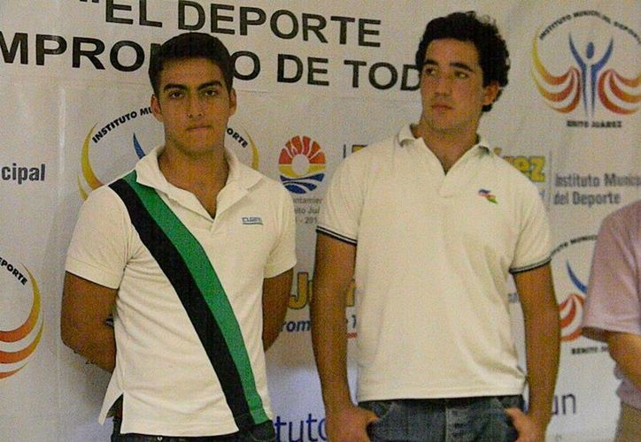Emiliano González y Renato Boggio, los llamados. (Ángel Mazariego/SIPSE)
