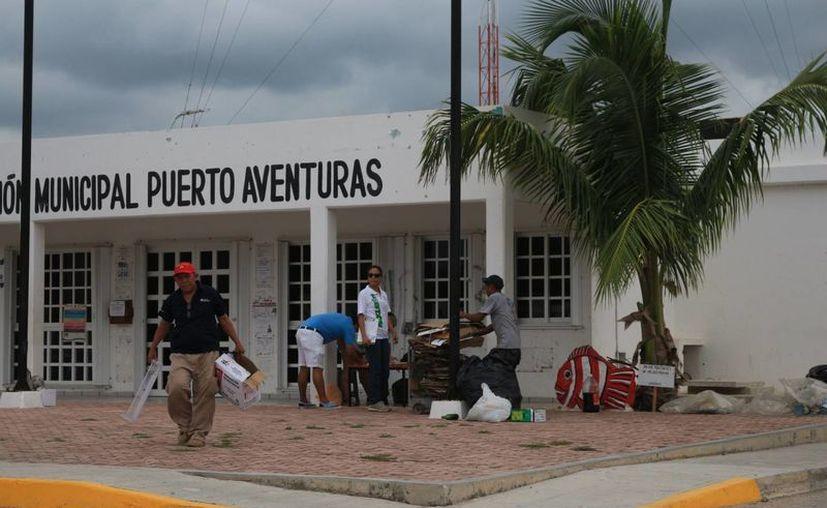 El jueves se presentó al Cabildo de Solidaridad la propuesta para que Puerto Aventuras se convierta en alcaldía. (Adrián Barreto/SIPSE)