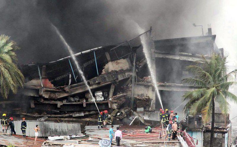 Explosión de caldera deja nueve muertos en Bangladesh