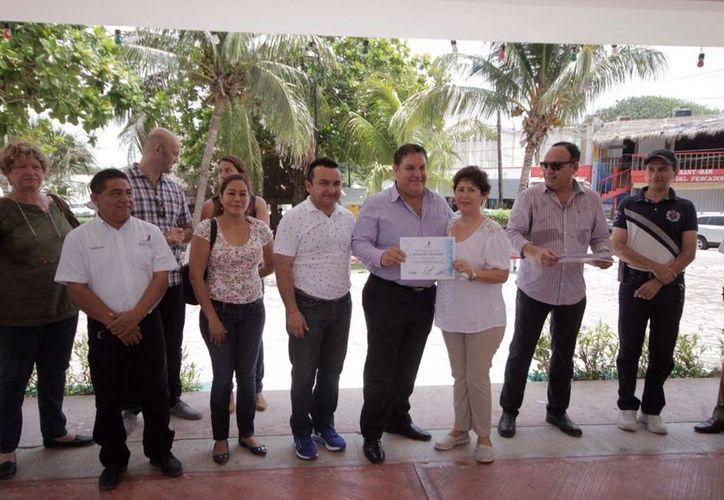 Concejo Municipal realizó el recorrido oficial por las áreas embellecidas (Redacción)