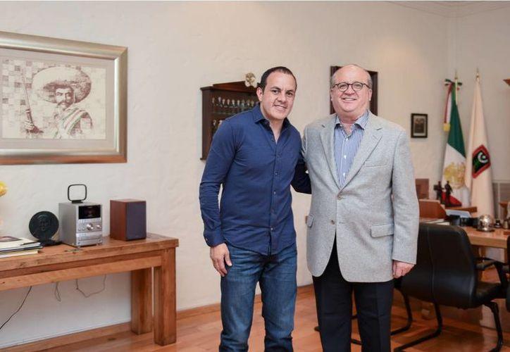 El gobernador de Morelos, Graco Ramírez, dijo que Blanco solicitó un crédito para Cuernavaca, pero no ha dicho en qué lo usará. (vanguardia.com.mx)