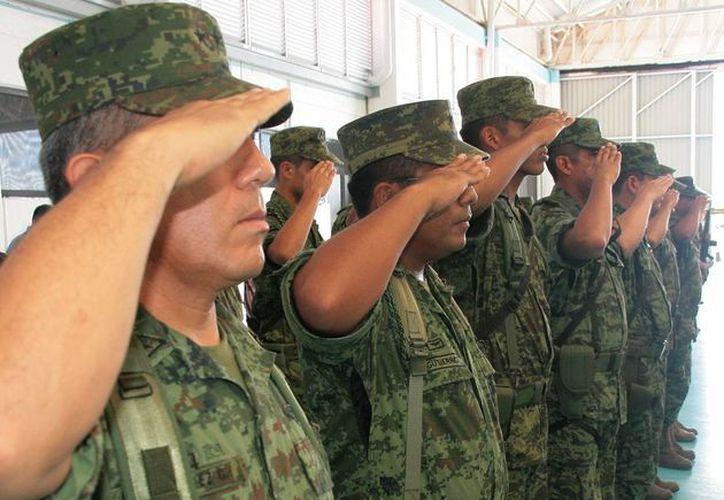 El militar que se autolesionó este fin de semana será sometido a un proceso castrense, confirmaron fuentes de la Guarnición Militar de Cozumel.  (Irving Canul/SIPSE)