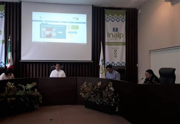 El Inaip amonestó a tres representantes de unidades de transparencia. (Novedades Yucatán)