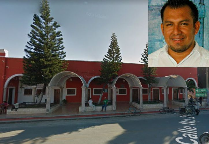 El alcalde con licencia de Cacalchén, Pastor Agustín Canul Zárate. (Foto: Especial)