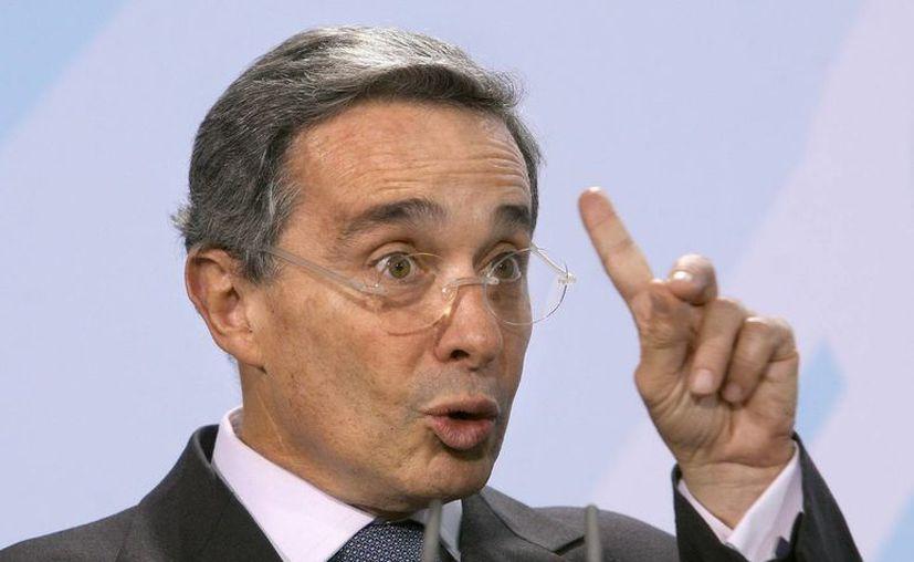 El exmandatario de Colombia, Álvaro Uribe, indicó que los operativos fueron bajo su responsabilidad. (Archivo/EFE)