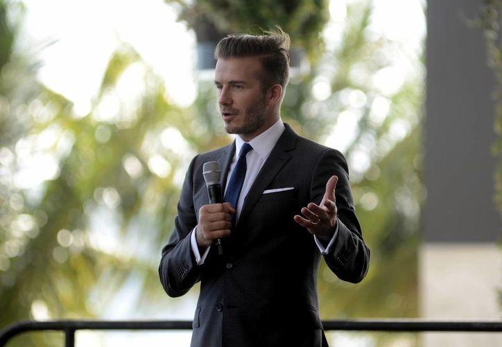 David Beckham anunció que compró unos terrenos en Miami. (Archivo/EFE)