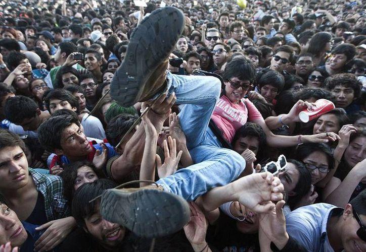 El Corona Capital es considerado el festival de rock anglo más importante de Latinoamérica. (AP)