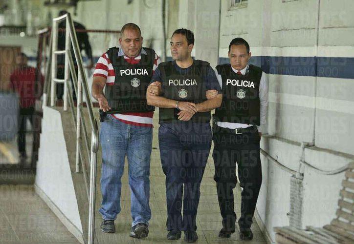 El exgobernador lleva un mes con 15 días de haber sido detenido. (Jesús Tijerina/SIPSE)