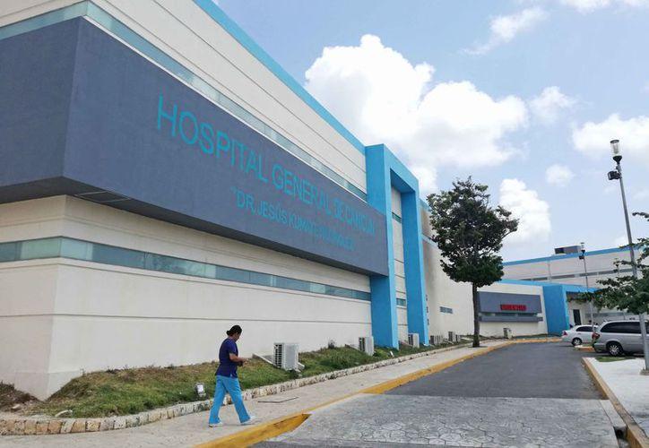 El Hospital General tiene un acuerdo para atender a los pacientes del Issste. (Ivette Ycos/SIPSE)