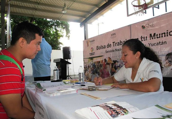 El programa 'Bolsa de Trabajo en tu municipio' promocionó 600 empleos a Hunucmá. (Cortesía)