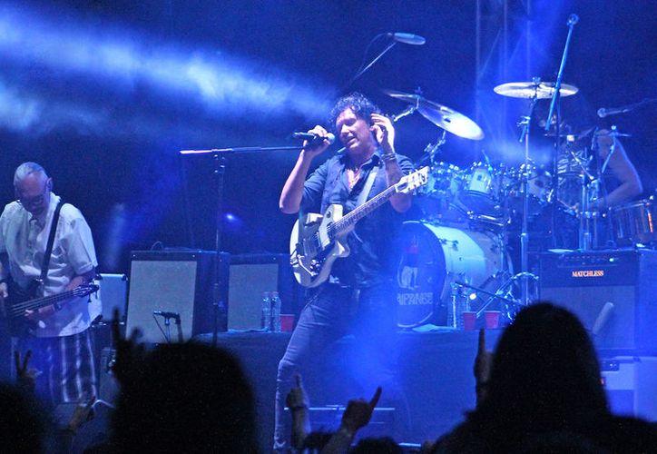 La presentación de la banda fue en el autódromo de Cancún. (Faride Cetina/SIPSE)