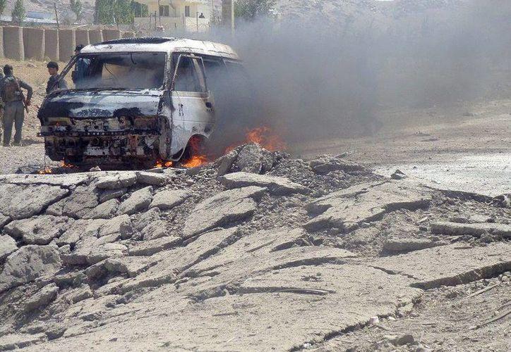 Los insurgentes señalan que hay más de 14 muertos por el ataque. (EFE)