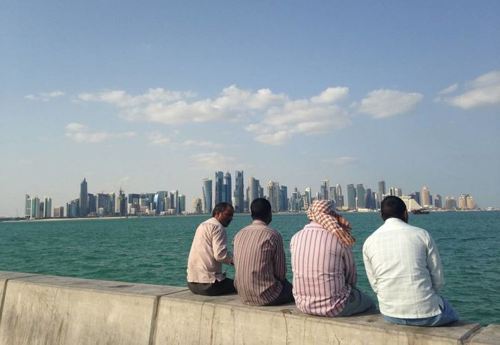 La ciudad de Doha, Qatar, se caracteriza por su modernidad y sus múltiples rascacielos, signos de su gran prosperidad. (Agencias)