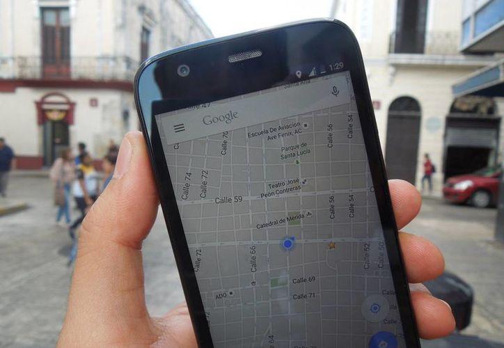 Google Maps Offline beneficiará a más de 60 por ciento de la población mundial que no tiene Internet o cuya conexión es lenta. (Foto: Christian Coquet/SIPSE)