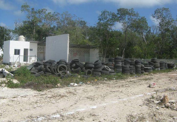 Los terrenos abandonados afectan a los habitantes del municipio. (Rossy López/SIPSE)