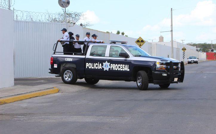 La audiencia se realizó en el Juzgado de Juicios Orales en Chetumal. (Foto: David de la Fuente)