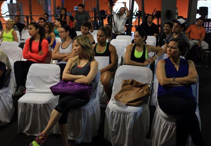 El objetivo del seminario fue  apoyar el crecimiento técnico deportivo de los atletas de nivel competitivo, tanto profesionales como amateurs. (Mauricio Palos/Milenio Novedades)
