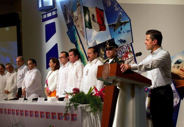 Hoy terminó el Foro Nacional de Turismo en Cancún, Quintana Roo. (Notimex)